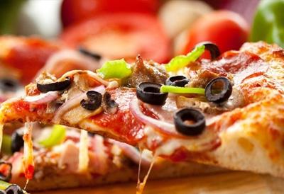 bild på en pizza